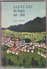 Saint Dié des Vosges 669 1969 Albert RONSIN