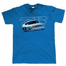 Broadspeed Capri 73 Mens Motorsport T Shirt - Classic Touring Car - Gift for Dad
