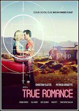 True Romance 9  Movie Posters Romance Classic & Vintage Cinema