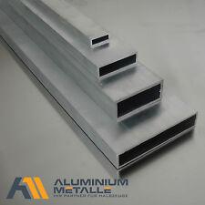 tube carré en aluminuim 80x30x3mm aluminium almgsi05 6060 PROFIL creux