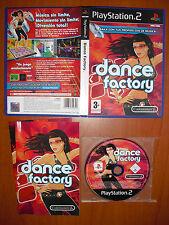 Dance Factory PlayStation 2 PS2 PStwo Pal-España ¡¡COMPLETO Y MUY RARO DE VER!!