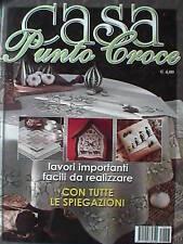 CASA PUNTO A CROCE Lavori Modelli Facili Ricamo Cucito