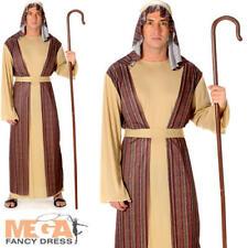 Shepherd uomo Costume Natale Natività Giocare Joseph adulti Costume Outfit