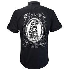 Worker Shirt, Hemd, Sailor, Segeln, Rock and Roll, Schiff, Gegen den Wind