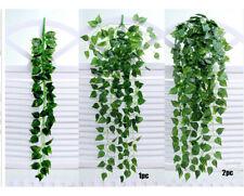 Artificial Vine Hitom Scindapsus Fake Foliage Flower Hanging Leaf Garland Plant