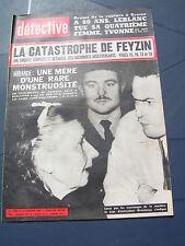 Détective 1966 1020 LAAS TUGNY PONT MAROMME LES MARTRES VEYRES CAULNES CLAIRVAUX