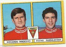 FIGURINE CALCIATORI EDIS 1969 / 70 * PERUGIA * INNOCENTI  / PASSALACQUA - NUOVA