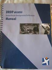 DRDP Desired Results Developmental Profile Access Manual Ca Dept of Ed CL2-11