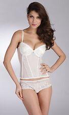 E et D ED264 embroidery super comfort cream corset set