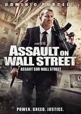 Assault on Wall Street (DVD, 2013, Canadian) Brand New