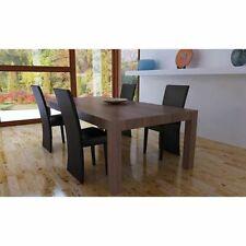 vidaXL 4x Sedie da Pranzo in Similpelle Marrone Moderne Seggiole Sala Salotto