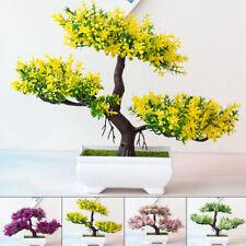 Artificial Pot Bonsai Plant Simulation Potted Pine Tree Home Floral Decoration