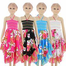 KK603 Kinder Mädchen sommer kleid/rock