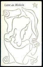 RARE : Jean PAULHAN : Lettre au Médecin - Imprimé par PIERRE BETTENCOURT en 1949