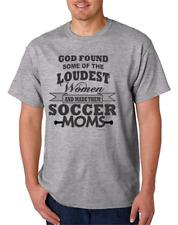 USA Made Bayside T-shirt God Found Loudest Woman Made Soccer Moms Mom