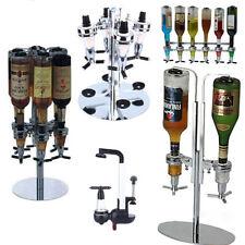 Wall Mounted Bottle Stand Wine Liquor Drink Beer Dispenser Home Shots Bar Butler