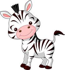 Adesivo bambino bebè Zebra ref 2620 (Dimensioni da 10 cm a 130cm di altezza)