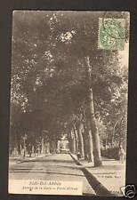 SIDI-BEL-ABBES (ALGERIE) Avenue d la GARE ,PORTE D'ORAN
