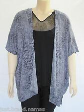 Autograph Ladies Extended Sleeve Print Kimono Top sizes 14 16 18 20 26