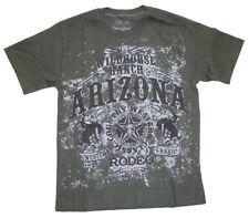 Jungen T-Shirt Cowboy Kinder kurzarm Shirt Teenie Pferd Rodeo Tshirt Western Neu
