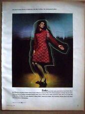 1969 Women's ENKA Burt Stanley Jumper Dress fashion ad