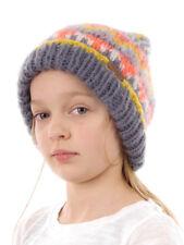 Barts Bonnet tricoté Beanie Gris MICKI motif réchauffant polaire