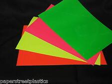 Fluorescent Neon Sign Vinyl, Choose Your Color and Size, Race Car Vinyl