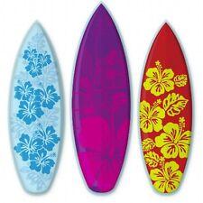 Surfboards Aloha Set of 3 Car Vinyl Sticker - SELECT SIZE