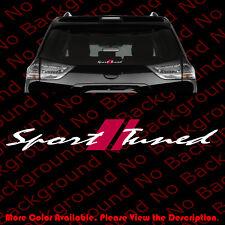 LARGE SPORT TUNED Car Windshield Die Cut Vinyl Decal/Sticker VVT-i Racing RC110
