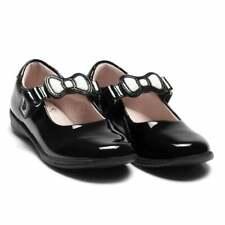 Lelli Kelly Juniors Colourissima Bow Patent Shoes (Black)