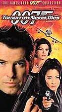TOMORROW NEVER DIES 007, PIERCE BRONSON, FRAN WALSH, VHS