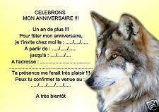 5 o 12 invitaciones de cumpleaños REF 1022