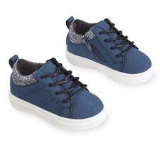 Koala Kids Hard Sole Blue Laced Sneakers Toddler Boys Size  6 7 9  NWT