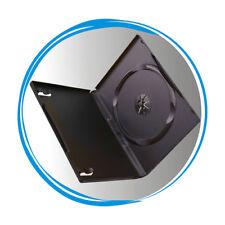 100 Standard 14mm Single CD DVD Black Storage Case Box