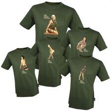 Soutien des Forces T-Shirt Web-tex militaire airsoft Chemise T-shirt 100% coton NEUF