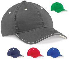 Beechfield Vintage RED GREY GREEN or BLUE Low Profile Fashion Baseball Hat  Cap 90f9b546ee4