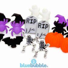 Bluebubble Mini dulce o travesura pendientes de Halloween vestido elegante Divertido Novedad Funky