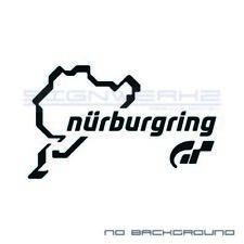 GT Nurburgring Decal Sticker logo PS4 X-BOX Gran Turismo 7 Pair