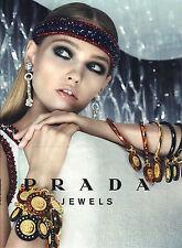 PUBLICITE  2012   PRADA  jewels bijoux