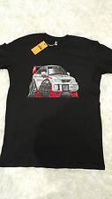 Men's T-shirt, Mitsubishi Lancer EVO 6 turbo, AS Colour shirt, Rally car