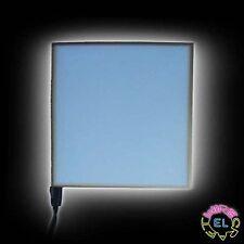 EL Panel 13cm X13cm = £14.99 - Illuminated Backlit Gauge Display - Glow Foil