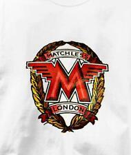 Matchless Motorcycle Vintage Logo British Motorcycle T Shirt