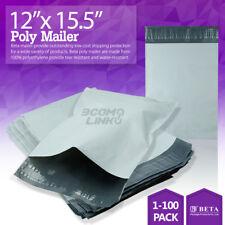 """12""""x15.5"""" Poly Mailer Shipping Mailing Packaging Envelope Self Sealing Bag Light"""