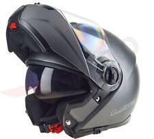 LS2 FF325 STROBE INTEGRALE apertura anteriore moto casco ANTIURTO TITANIO
