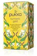 Pukka herbal organic teas thé sachets-curcuma or (20 sachets)