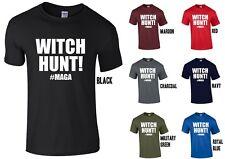 Witch Hunt! #MAGA T-Shirt - Donald Trump Russia Fake News America USA
