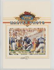 1993 Topps Stadium Club Master Photos Prizes #9 Jeff George Indianapolis Colts