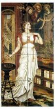 Tile Mural The Crown of Glory Girl Female Lady Kitchen Backsplash Marble Ceramic