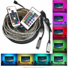 15led-150led 30led/m 5050 RGB LED Strip USB LED Light Strips Flexible Tape DC 5V