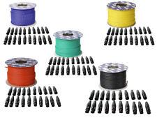 DAP-Audio Mikrofonkabel MC-216 100m Rolle und XLR Steckerset 20 Stück